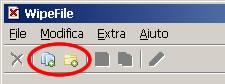 wipefile aggiungere file e directory