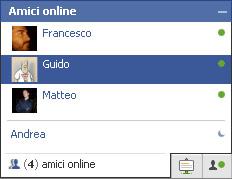 facebook avvio chat