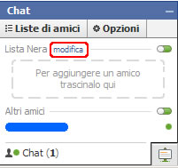 Facebook modifica lista amici