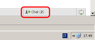 facebook pulsante chat