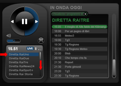 rai.tv player