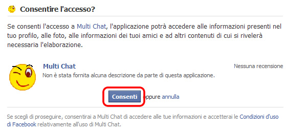 multi chat accesso