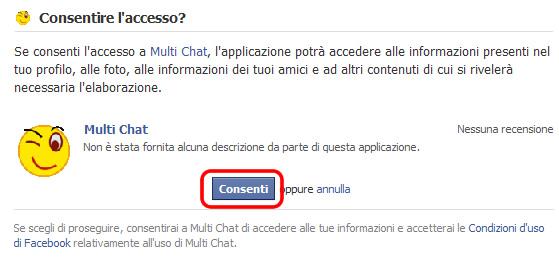 multi chat accesso
