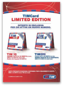 TIM Card Limited Edition