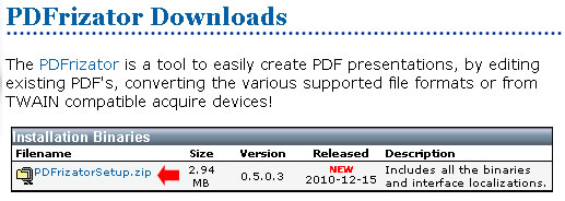 pdfrizator download