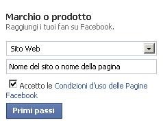 nome pagina facebook