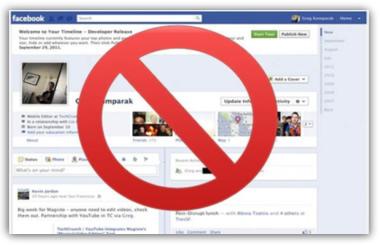 disattivare diario di facebook