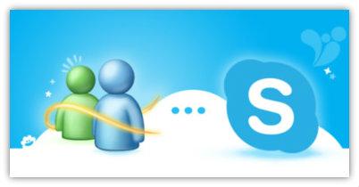 passare da Live messenger a skype