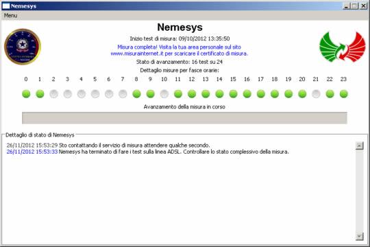 Nemesys - Interfaccia Grafica