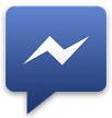 Facebook messenger icona