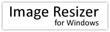 image resizer logo